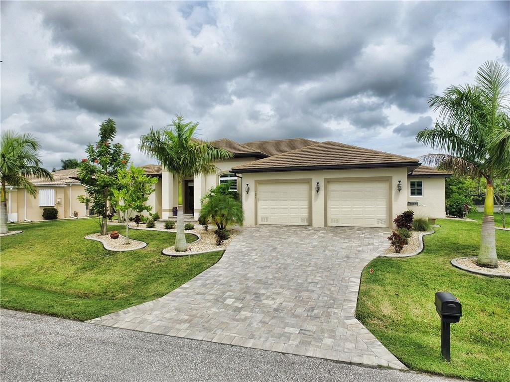 Lot & House Plat - Single Family Home for sale at 1277 Royal Tern Dr, Punta Gorda, FL 33950 - MLS Number is C7418785