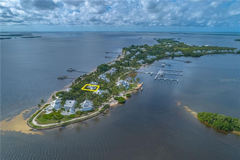 Aerial - Single Family Home for sale at 124 Useppa Is, Captiva, FL 33924 - MLS Number is C7419408