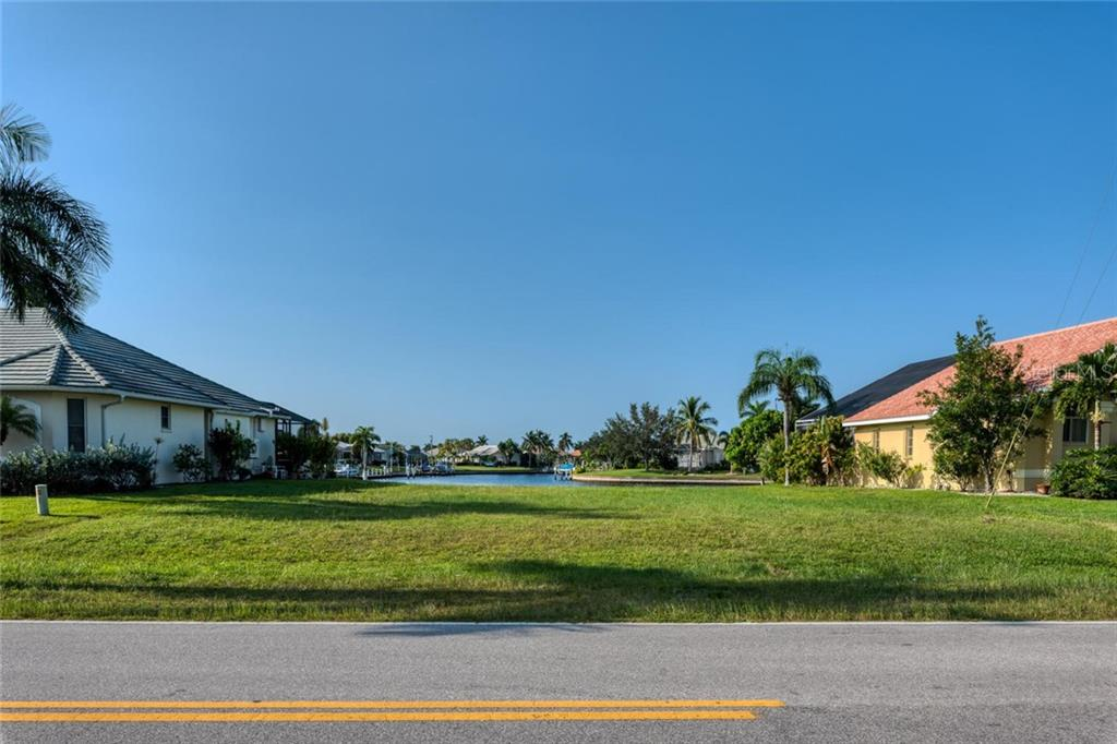 Ground level view - Vacant Land for sale at 3567 Tripoli Blvd, Punta Gorda, FL 33950 - MLS Number is C7420403