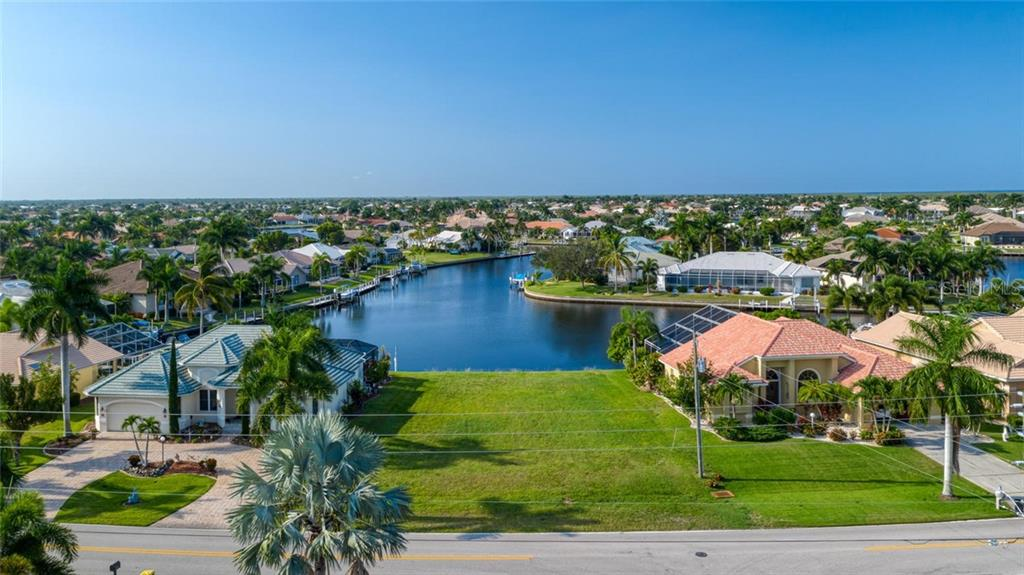 Surrounded by beautiful homes - Vacant Land for sale at 3567 Tripoli Blvd, Punta Gorda, FL 33950 - MLS Number is C7420403