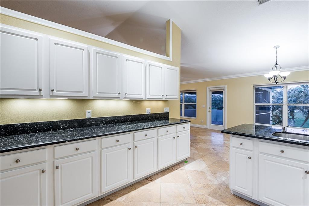 Large Kitchen with Granite Counters - Single Family Home for sale at 2440 Montpelier Rd, Punta Gorda, FL 33983 - MLS Number is C7421011