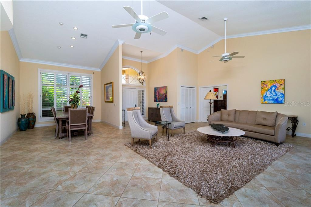 LIVING ROOM - Single Family Home for sale at 3537 Caya Largo Ct, Punta Gorda, FL 33950 - MLS Number is C7431664