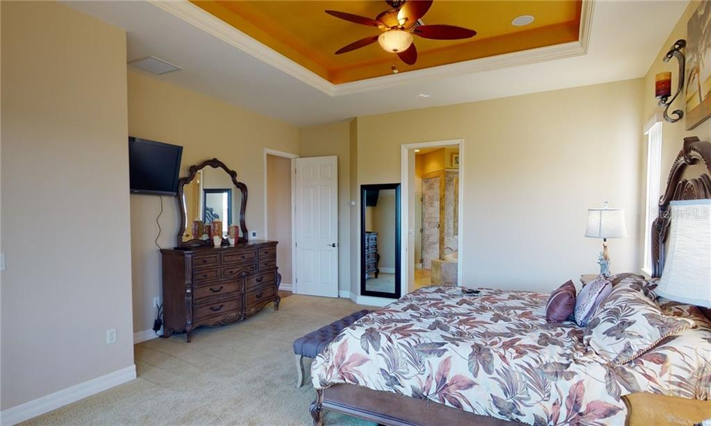 Master bedroom - Single Family Home for sale at 4245 Spire St, Port Charlotte, FL 33981 - MLS Number is C7437570