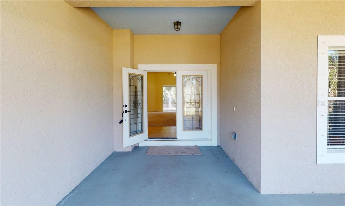 Front entry - Single Family Home for sale at 11905 Florence Ave, Port Charlotte, FL 33981 - MLS Number is C7441003