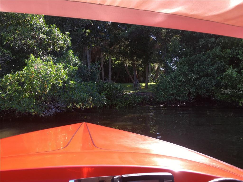 Approach by boat to the bayside of the property. - Vacant Land for sale at 608 N Casey Key Rd, Osprey, FL 34229 - MLS Number is A4127758