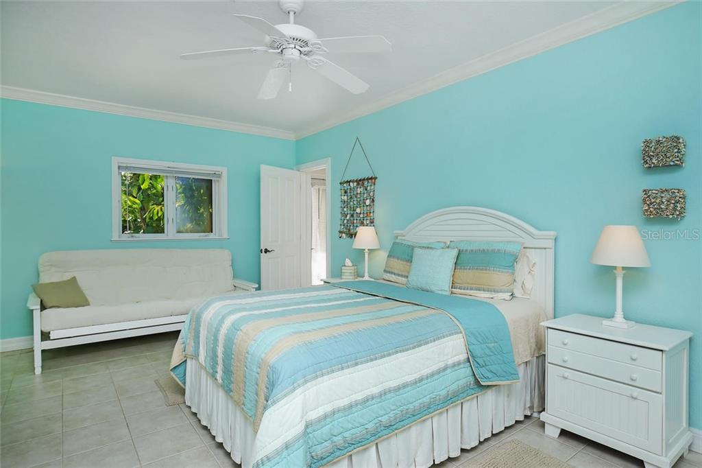 Fourth Guest Bedroom on Ground Level. - Single Family Home for sale at 722 Siesta Dr, Sarasota, FL 34242 - MLS Number is A4169257