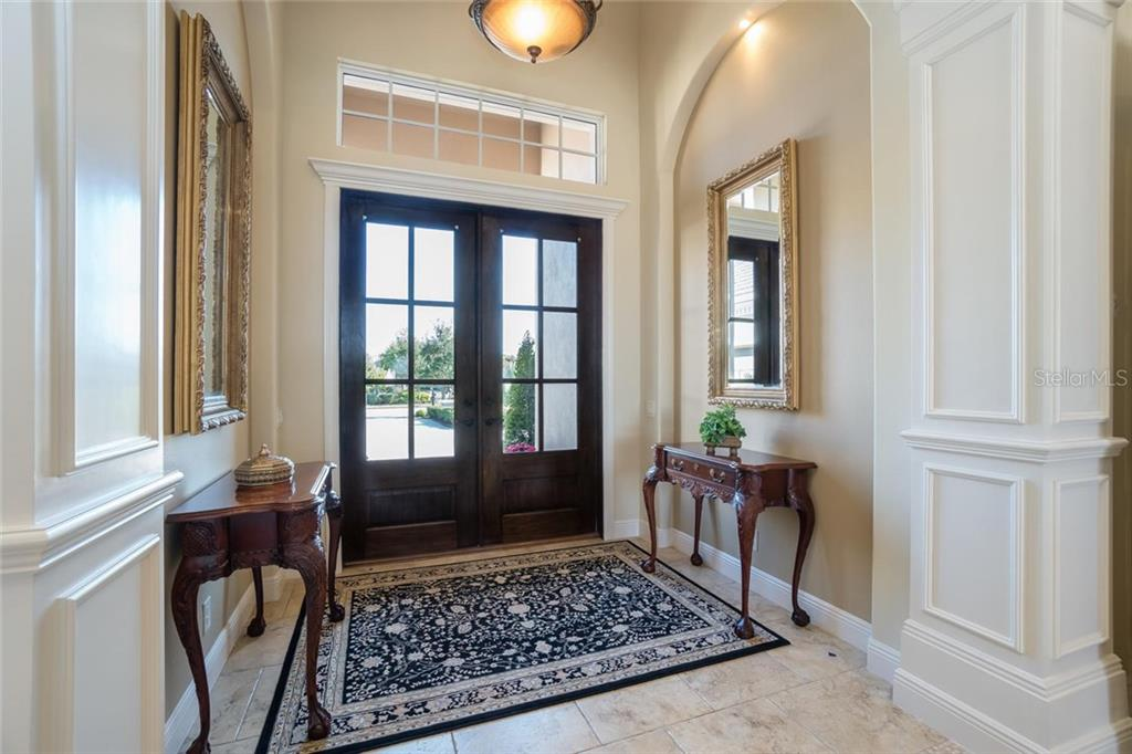 Foyer - Single Family Home for sale at 16318 Daysailor Trl, Lakewood Ranch, FL 34202 - MLS Number is A4170081