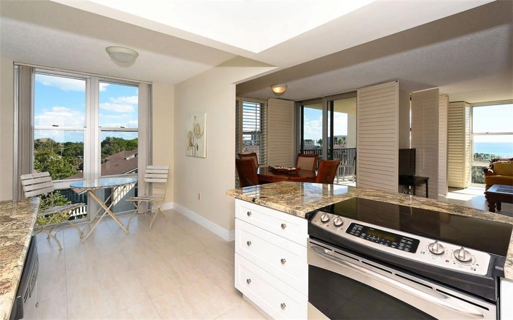 New Kitchen with eat-in area - Condo for sale at 1701 Gulf Of Mexico Dr #505, Longboat Key, FL 34228 - MLS Number is A4170632