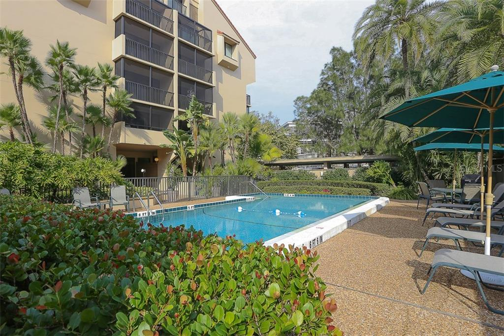 Private, heated pool - Condo for sale at 4900 Ocean Blvd #503, Sarasota, FL 34242 - MLS Number is A4171070