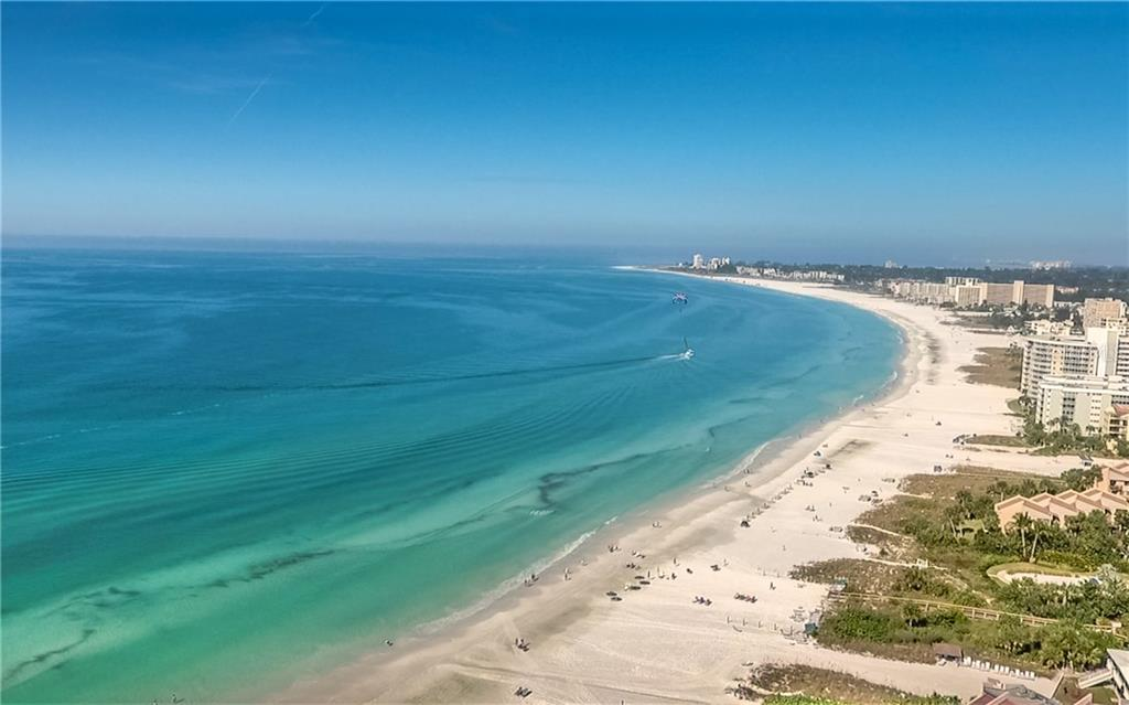 This is your beach when you live at Crescent Siesta Key. - Condo for sale at 6512 Midnight Pass Rd #406, Sarasota, FL 34242 - MLS Number is A4171720