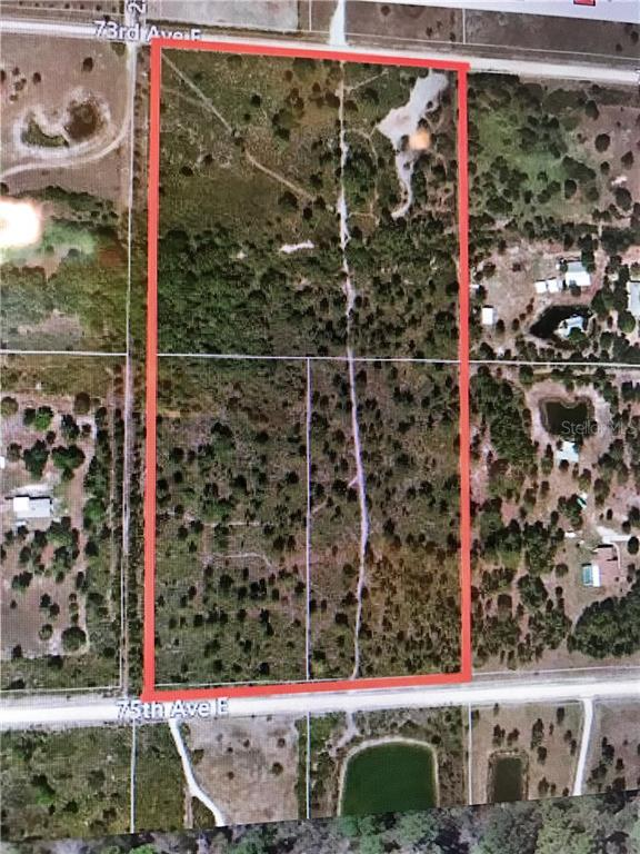Vacant Land for sale at 23811 E 75th Ave, Myakka City, FL 34251 - MLS Number is A4176033