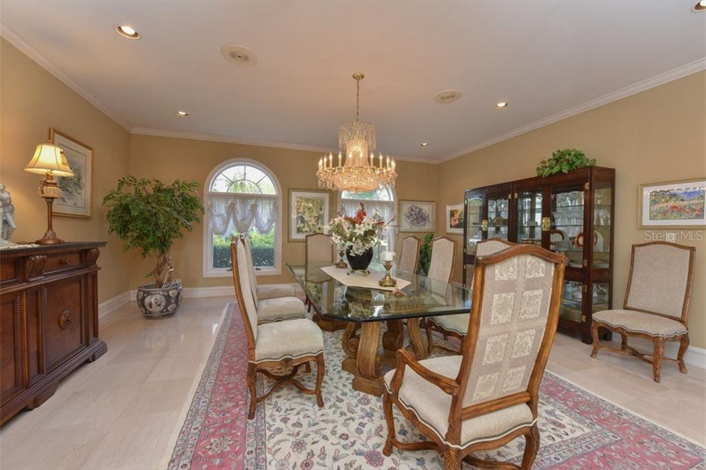 Spacious Library/Office on 1st level - Single Family Home for sale at 4298 Boca Pointe Dr, Sarasota, FL 34238 - MLS Number is A4176372