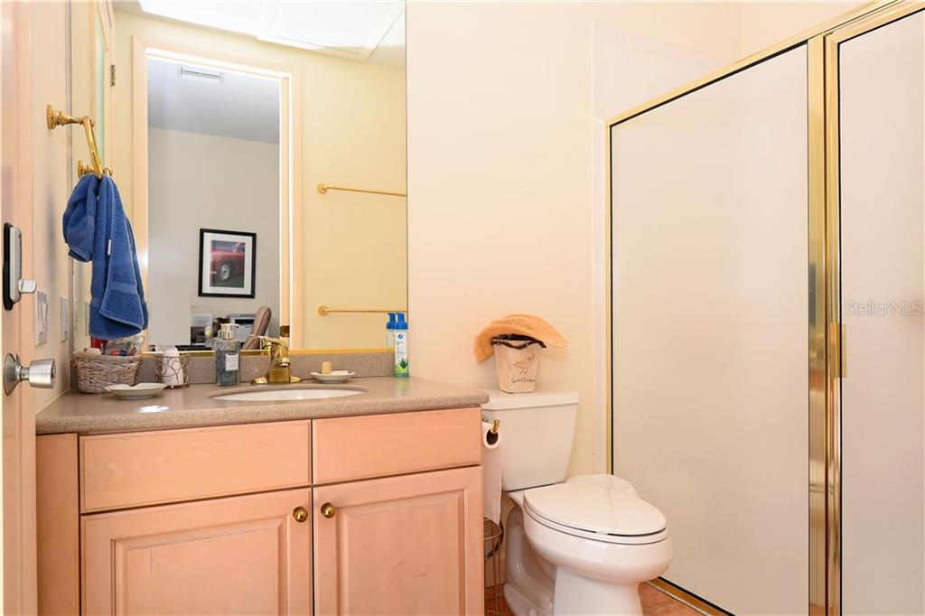 Third Bathroom, in guest house - Single Family Home for sale at 602 Weston Pointe Ct, Longboat Key, FL 34228 - MLS Number is A4178531
