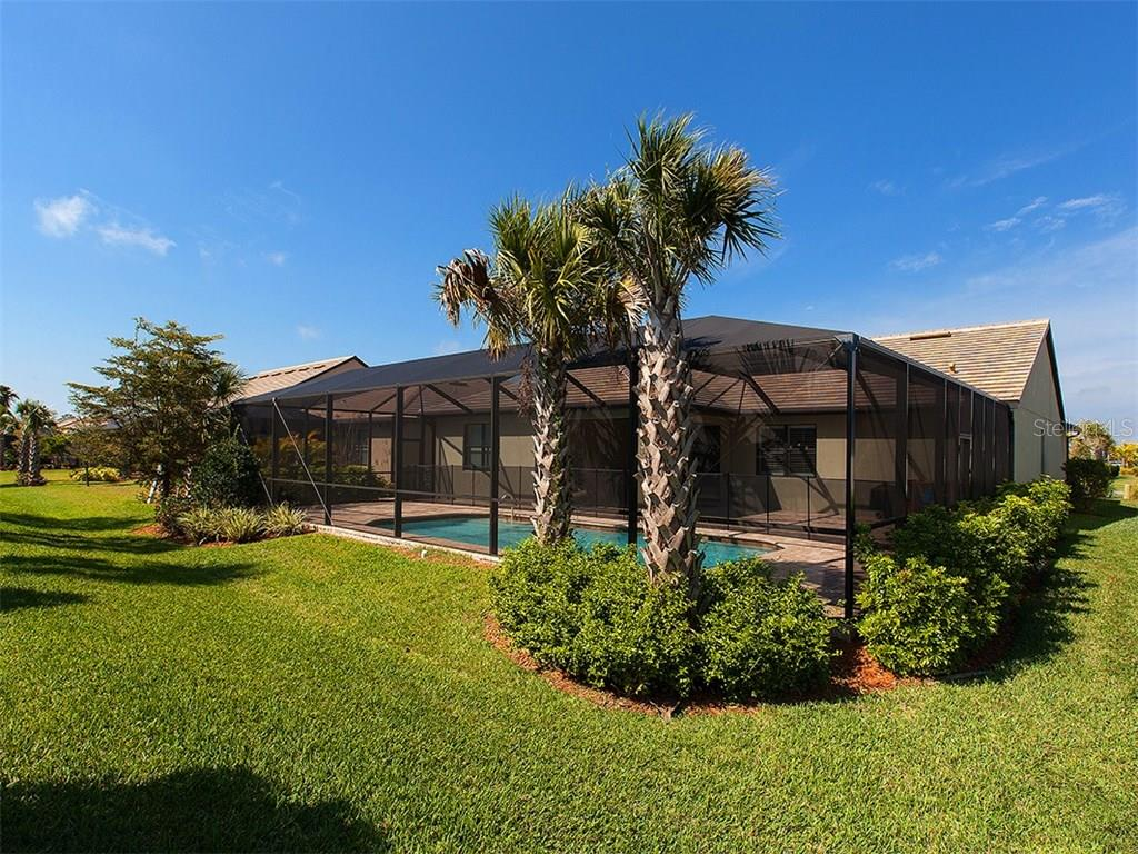 Extended Lanai is ideal for entertaining by your private pool. - Single Family Home for sale at 5436 Sundew Dr, Sarasota, FL 34238 - MLS Number is A4178629