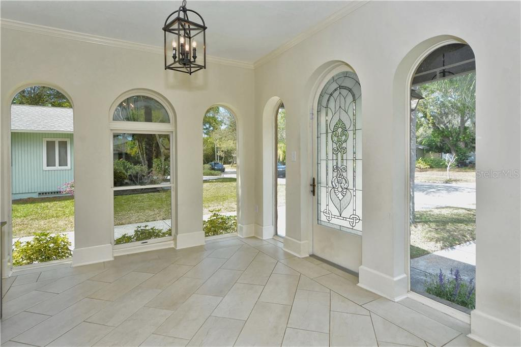 Foyer - Single Family Home for sale at 1896 Hibiscus St, Sarasota, FL 34239 - MLS Number is A4180775