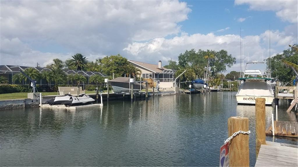 East along canal - Vacant Land for sale at 1609 Ridgewood Ln, Sarasota, FL 34231 - MLS Number is A4181542