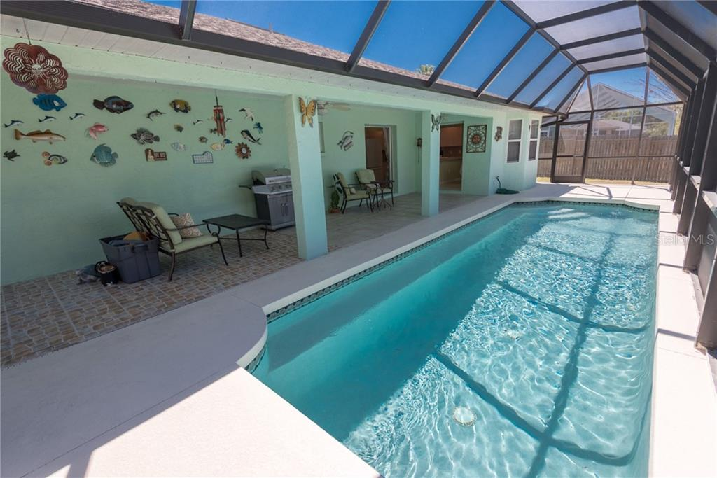 Caged pool area - Single Family Home for sale at 7718 36th Ln E, Sarasota, FL 34243 - MLS Number is A4181555