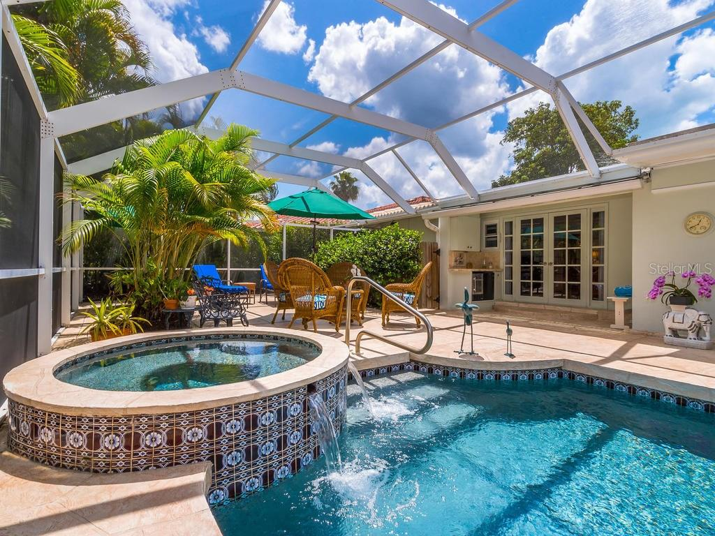Spa - Single Family Home for sale at 319 Bob White Way, Sarasota, FL 34236 - MLS Number is A4184394
