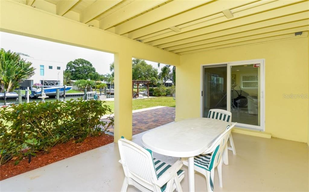 Ground level patio!! - Single Family Home for sale at 1627 Shelburne Ln, Sarasota, FL 34231 - MLS Number is A4184556