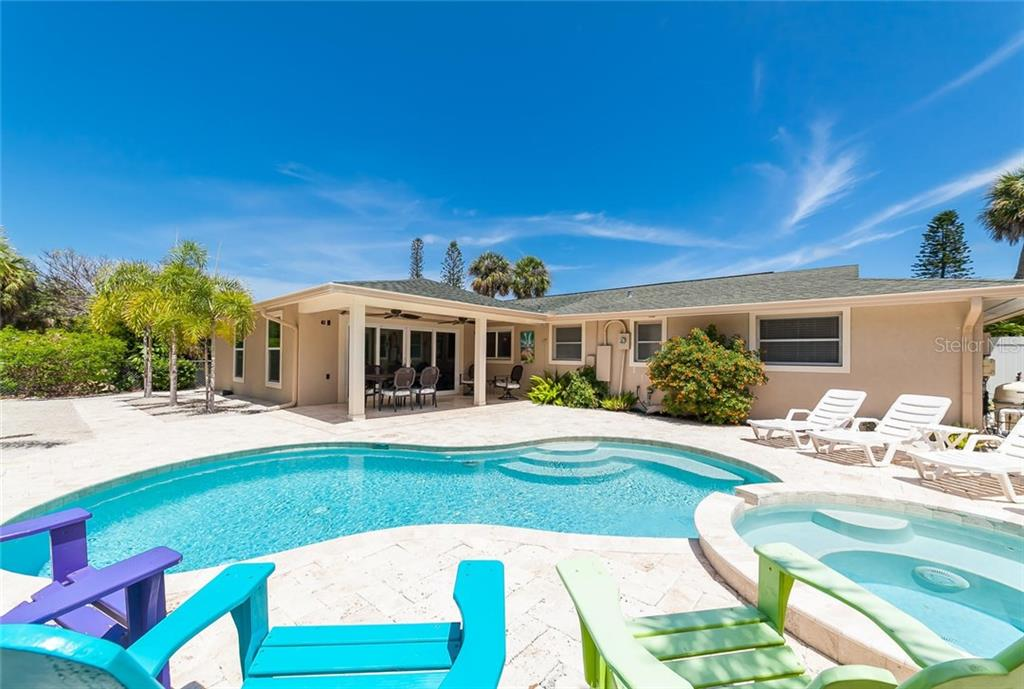 Your own tropical oasis. - Single Family Home for sale at 413 Bay Palms Dr, Holmes Beach, FL 34217 - MLS Number is A4184679