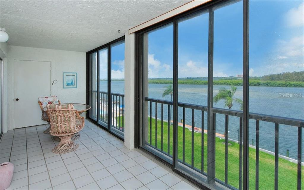 Balcony with fabulous Intracoastal views - Condo for sale at 9397 Midnight Pass Rd #403, Sarasota, FL 34242 - MLS Number is A4185842