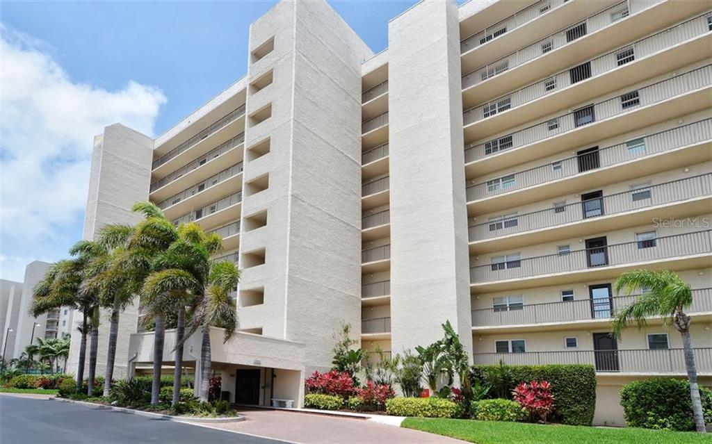 Building exterior - Condo for sale at 9397 Midnight Pass Rd #403, Sarasota, FL 34242 - MLS Number is A4185842