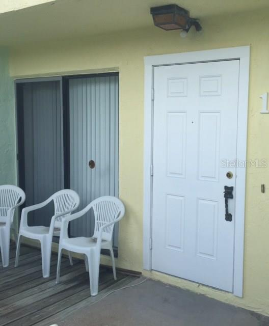 Front patio - Condo for sale at 1749 Dawn St S #303, Sarasota, FL 34231 - MLS Number is A4186116