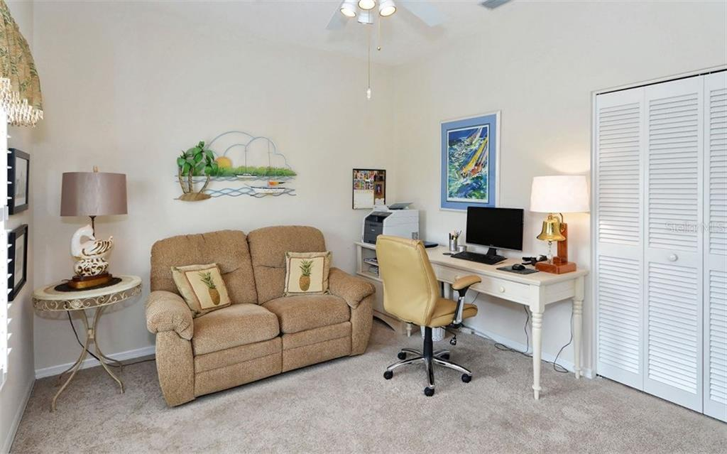 4th guest room - Single Family Home for sale at 4121 Via Mirada, Sarasota, FL 34238 - MLS Number is A4186485