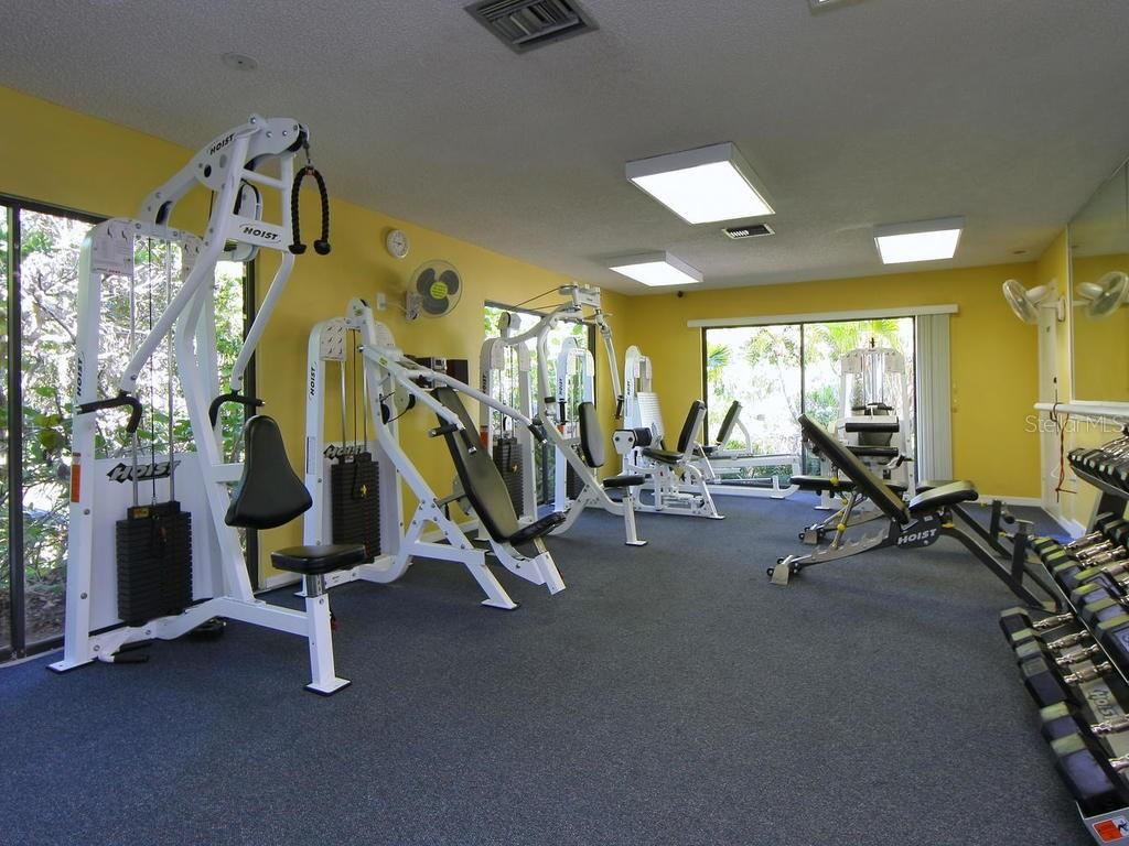 The Landings Racquet Club fitness center - Condo for sale at 1380 Landings Pt #26, Sarasota, FL 34231 - MLS Number is A4187270