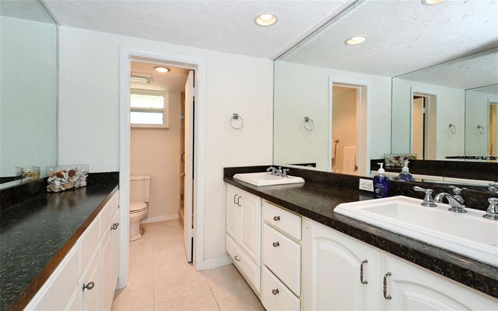 Master Bathroom / Separate Shower Area. - Condo for sale at 4330 Falmouth Dr #307, Longboat Key, FL 34228 - MLS Number is A4187329