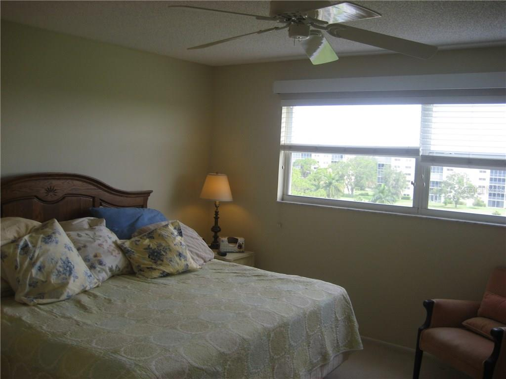 Mater has large windows and a walk out to the lanai - Condo for sale at 3820 Ironwood Ln #606i, Bradenton, FL 34209 - MLS Number is A4187664