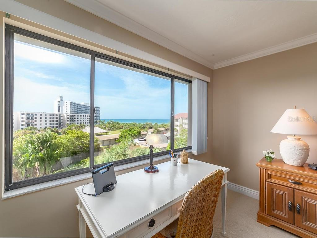 Gulf of Mexico views from Master bedroom - Condo for sale at 6236 Midnight Pass Rd #406, Sarasota, FL 34242 - MLS Number is A4188093