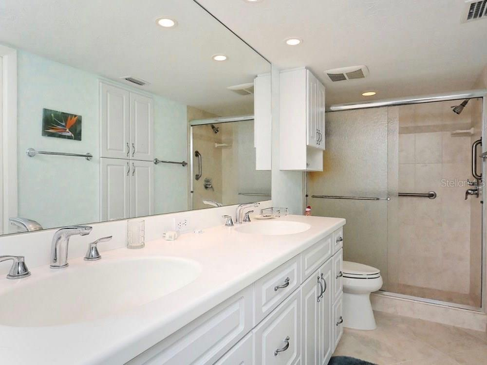 Master Bath - Condo for sale at 5770 Midnight Pass Rd #601, Sarasota, FL 34242 - MLS Number is A4188358