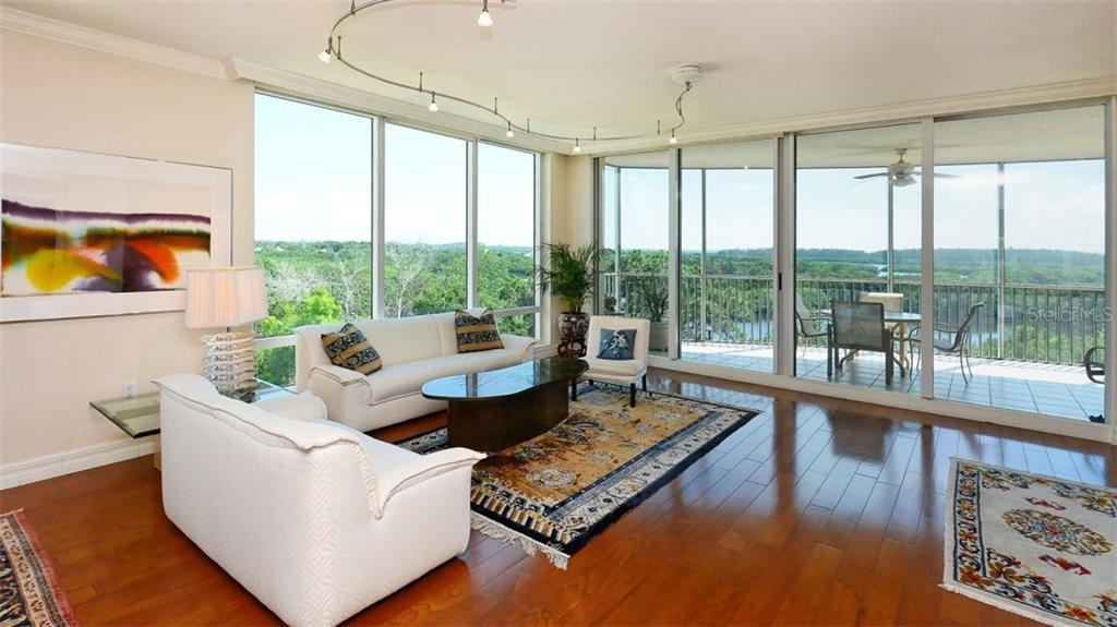 Living Room - Condo for sale at 409 N Point Rd #601, Osprey, FL 34229 - MLS Number is A4189564