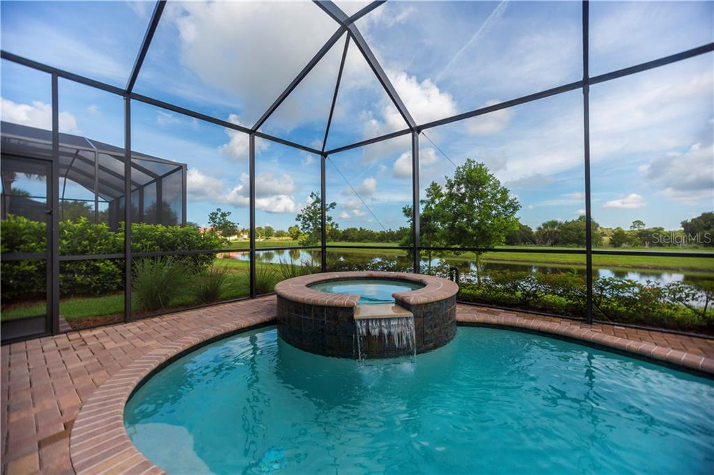 Pool/view - Single Family Home for sale at 23883 Waverly Cir, Venice, FL 34293 - MLS Number is A4190222