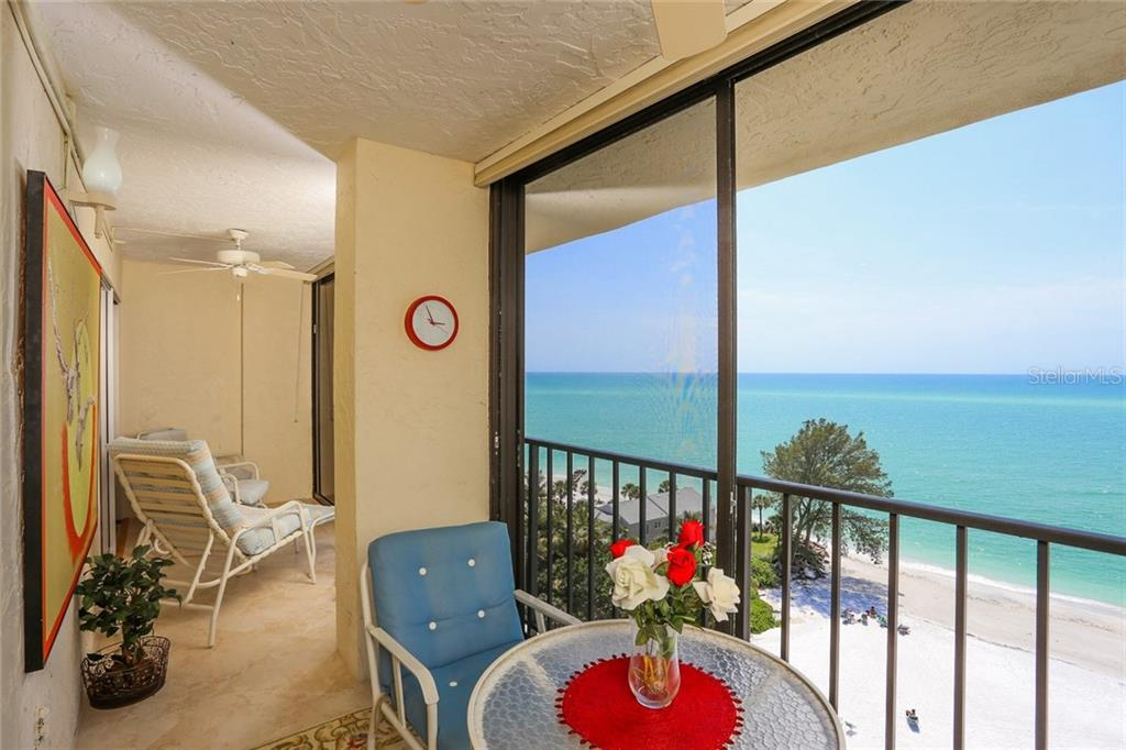 Full Gulf views from Florida room - Condo for sale at 20 Whispering Sands Dr #1103, Sarasota, FL 34242 - MLS Number is A4192663