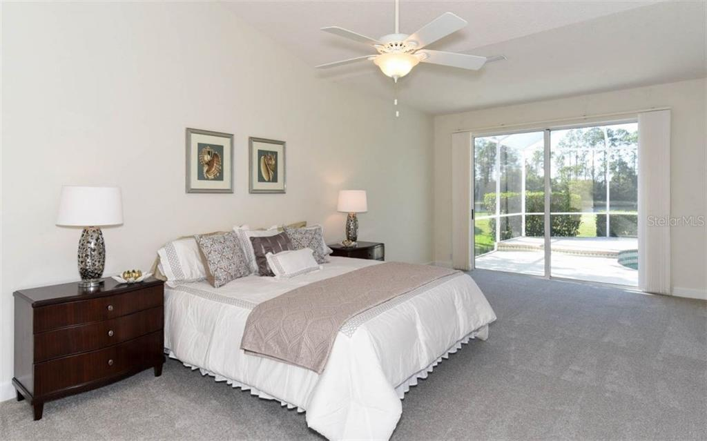 master bedroom - Single Family Home for sale at 8712 54th Ave E, Bradenton, FL 34211 - MLS Number is A4196623
