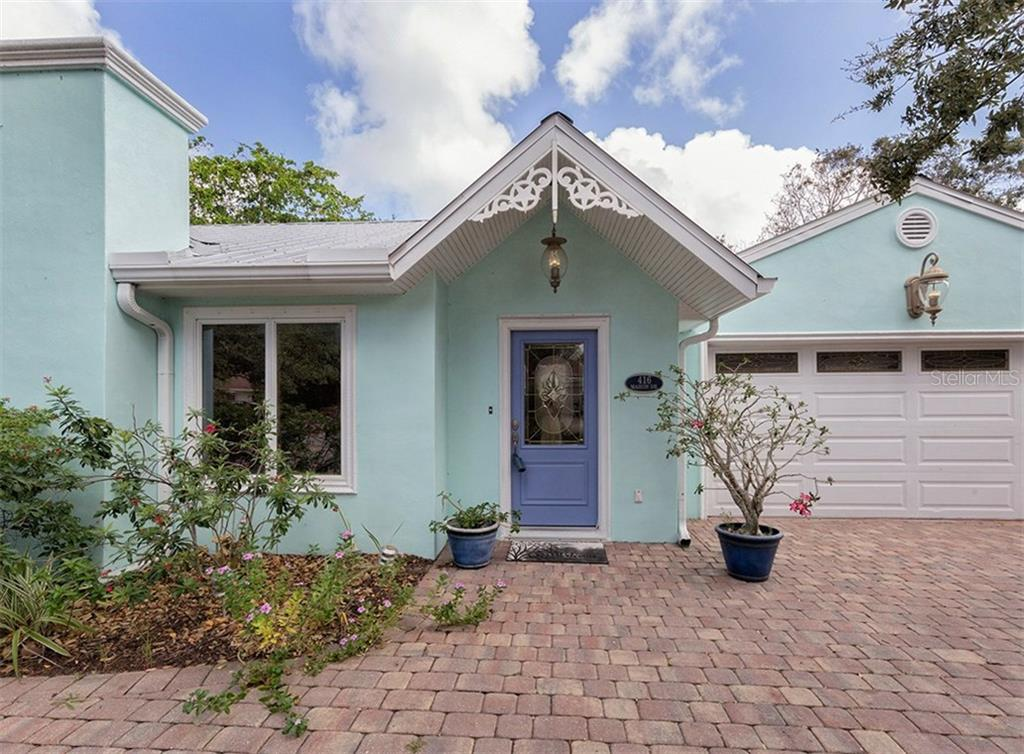 Entry - Single Family Home for sale at 416 Mahon Dr, Venice, FL 34285 - MLS Number is A4196787