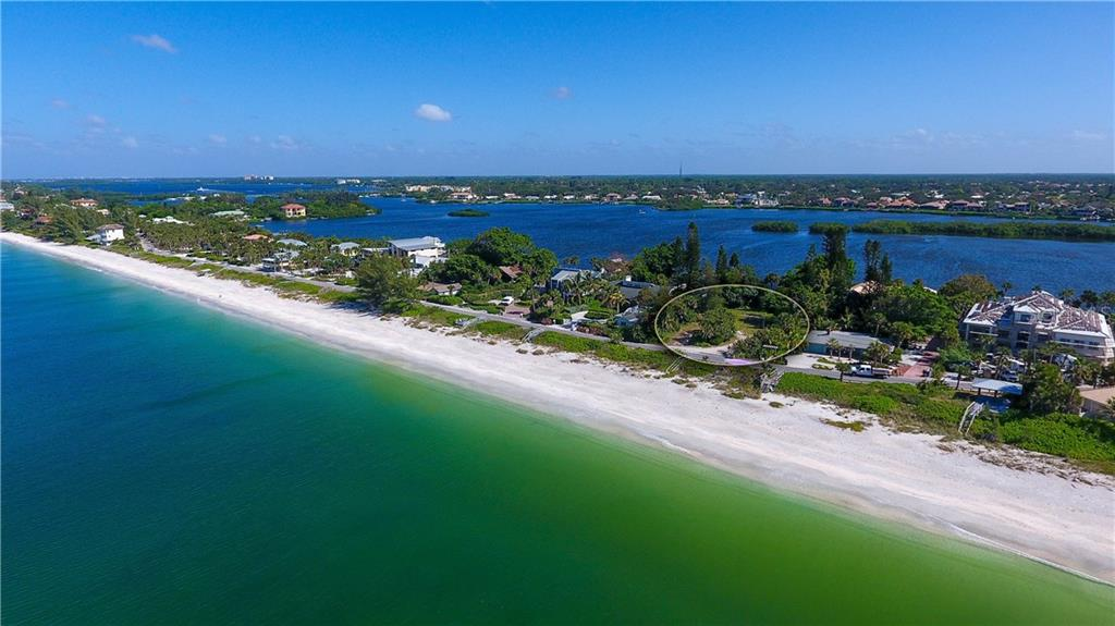 Amazing sunrises and sunsets on both sides of this amazing property... imagine relaxing on your balcony in the morning and at night - Vacant Land for sale at 3220 Casey Key Rd, Nokomis, FL 34275 - MLS Number is A4197366