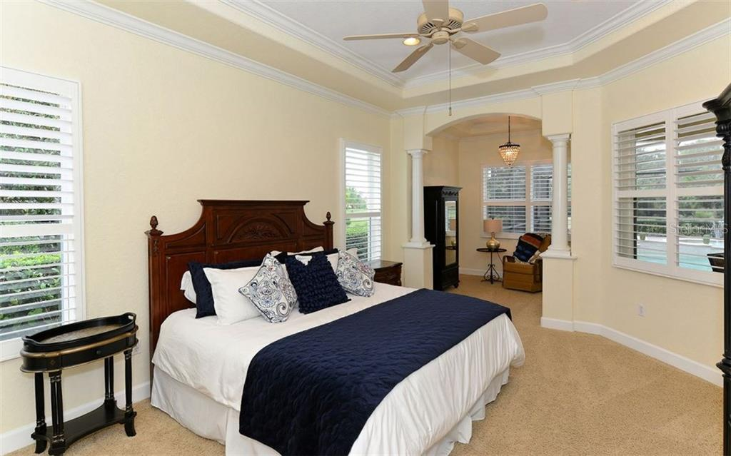Master Bedroom - Single Family Home for sale at 9919 Portside Ter, Bradenton, FL 34212 - MLS Number is A4197815