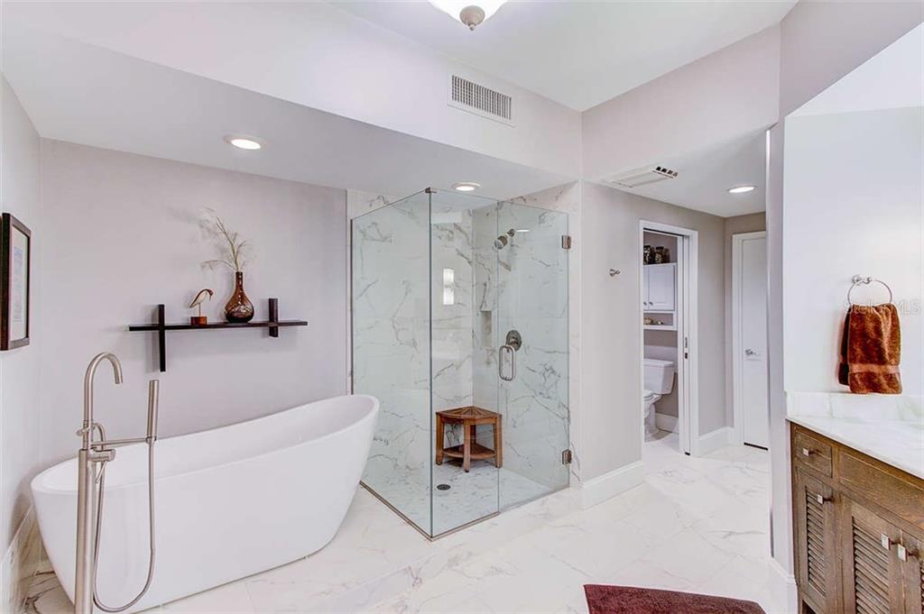 Master Bath - Condo for sale at 3060 Grand Bay Blvd #142, Longboat Key, FL 34228 - MLS Number is A4199568