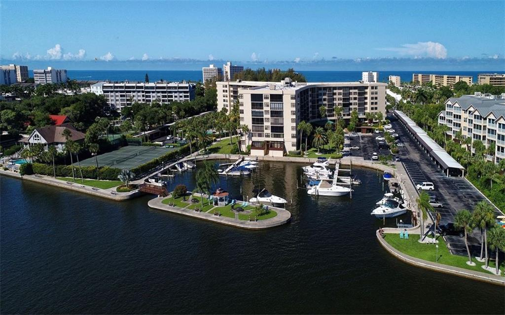 View of Marina - Condo for sale at 5855 Midnight Pass Rd #328, Sarasota, FL 34242 - MLS Number is A4200358
