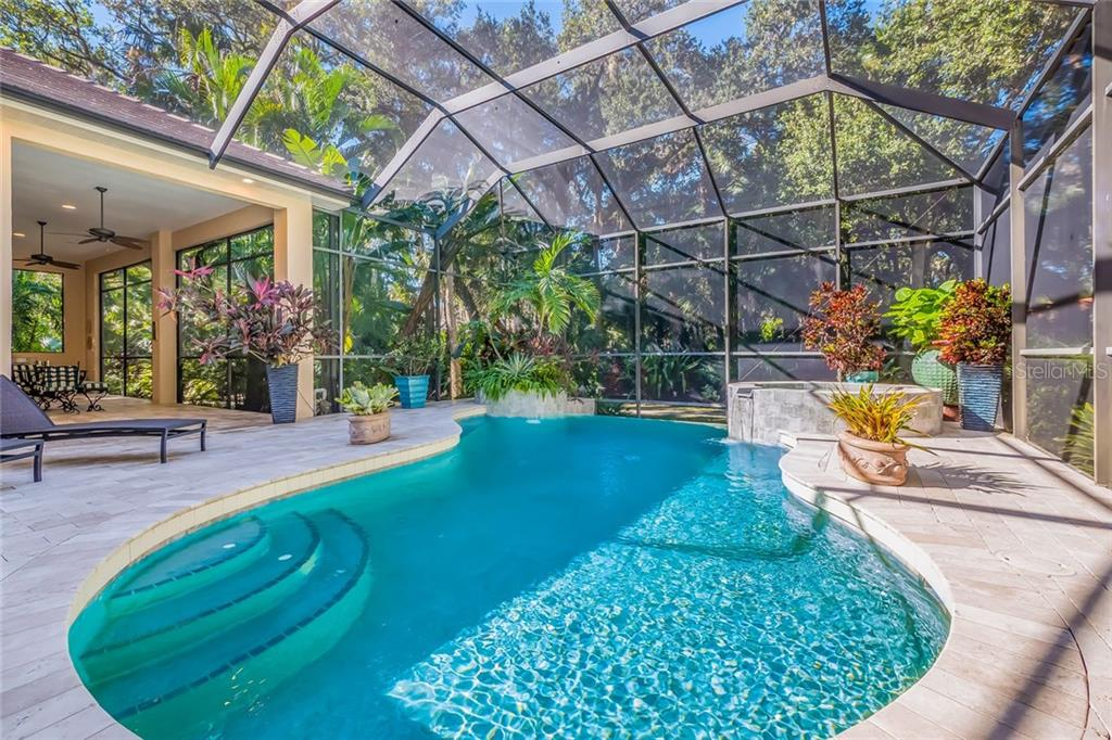 Infinity Pool & Spa - Single Family Home for sale at 3142 Dick Wilson Dr, Sarasota, FL 34240 - MLS Number is A4200867