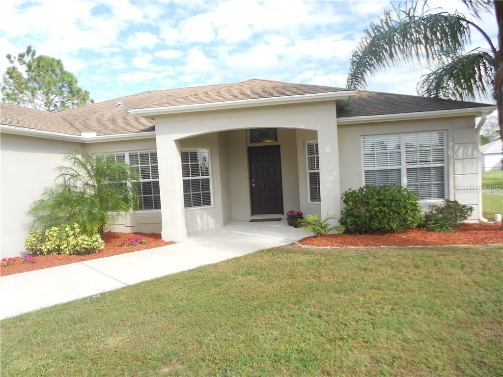 Front Entry - Single Family Home for sale at 6320 Hera St, Englewood, FL 34224 - MLS Number is A4200968