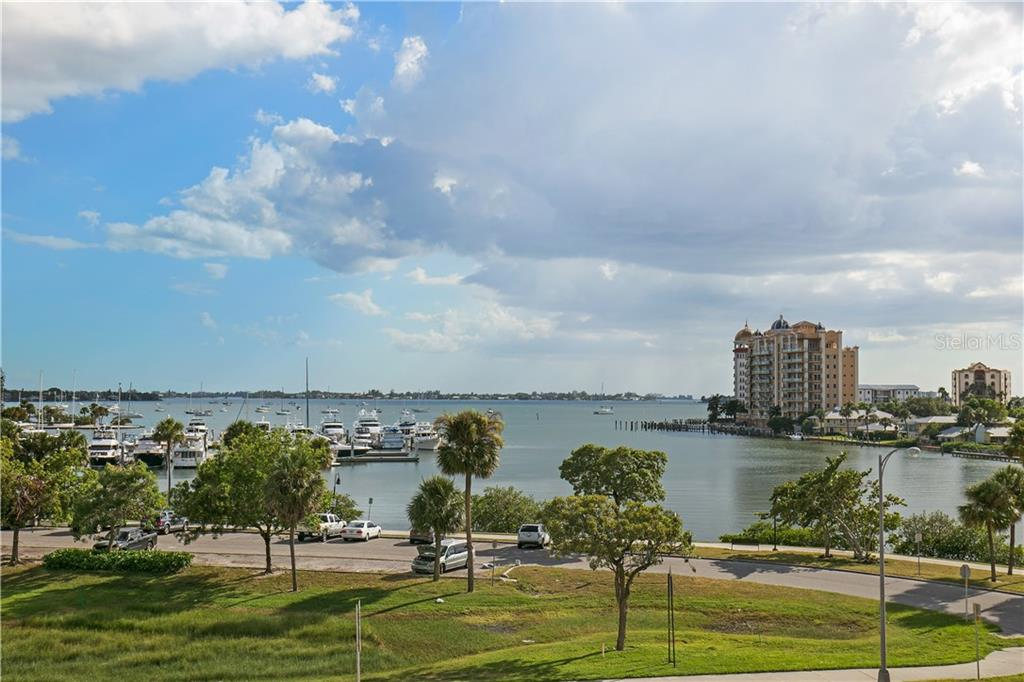 Sarasota Bay views - Condo for sale at 1155 N Gulfstream Ave #305, Sarasota, FL 34236 - MLS Number is A4202467