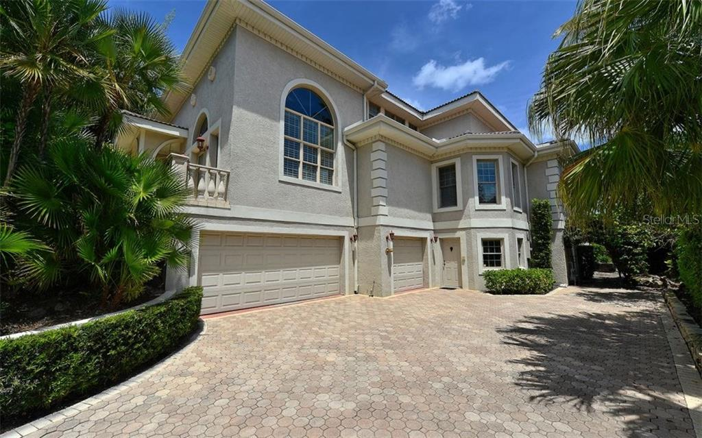 Three + car garage with separate storage and work shop. - Single Family Home for sale at 1630 Harbor Sound Dr, Longboat Key, FL 34228 - MLS Number is A4204745