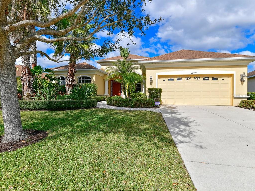 Premium home site with beautiful lake views and generous space between homes - Single Family Home for sale at 12071 Aster Ave, Bradenton, FL 34212 - MLS Number is A4205214