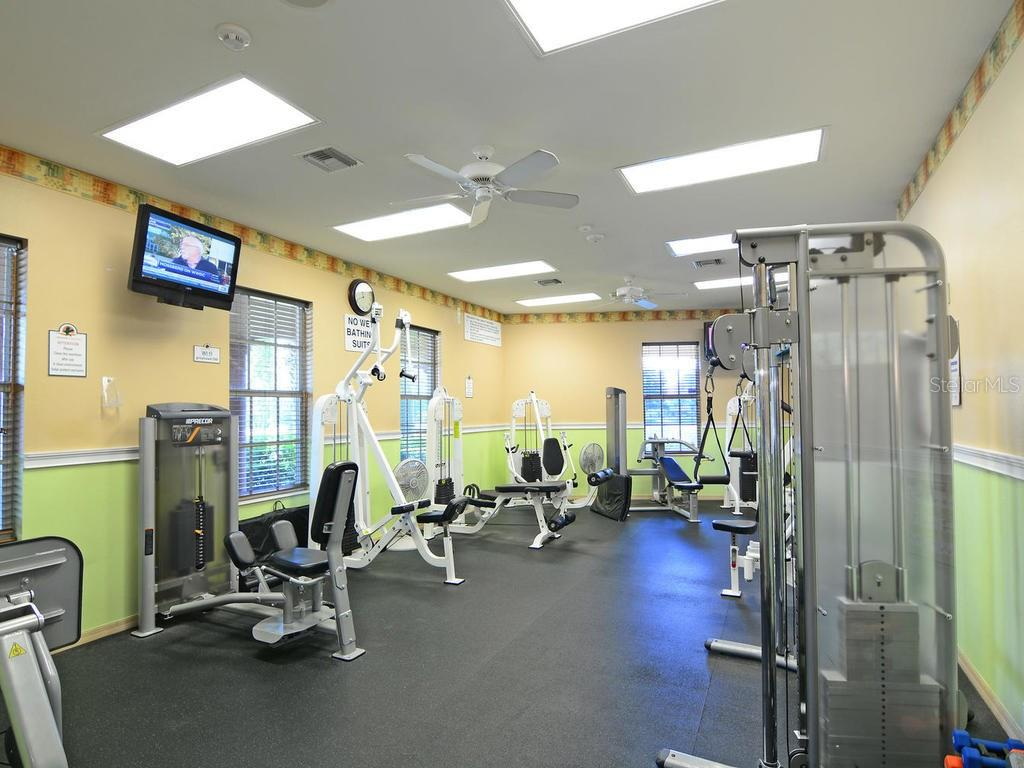 State-of-the-art fitness facility - Single Family Home for sale at 12071 Aster Ave, Bradenton, FL 34212 - MLS Number is A4205214