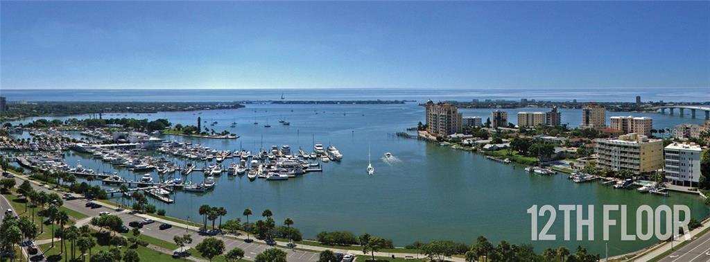 Condo for sale at 1155 N Gulfstream Ave #1202, Sarasota, FL 34236 - MLS Number is A4205249