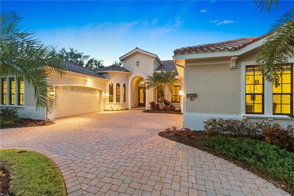 Floor Plan and Survey - Single Family Home for sale at 12524 Highfield Cir, Lakewood Ranch, FL 34202 - MLS Number is A4206329